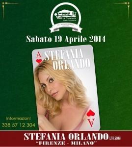Stefania Orlando a La Capannina di Franceschi