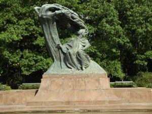 Varsavia monumento a Chopin