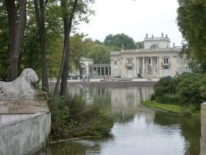 il Palazzo sull'Acqua di Varsavia