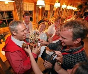 4. Switzerland Meeting Trophy: Fondue Dinner at Sunnegga