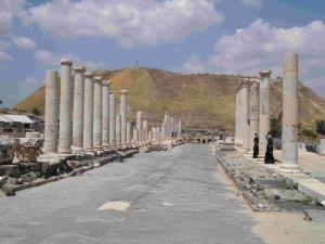 Israele-strada romana