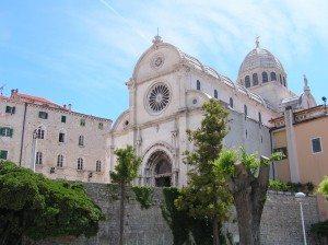 la cattedrale di Sibenik