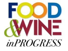 logo food&wine in progress