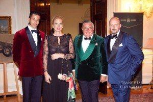 Cris Egger Alexander  Dijordevic e Pupi D'Angieri ambasciatore Belize in Italia e Vaticano