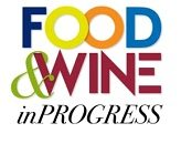 logo food wine in progress