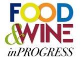 logo food wine in progress