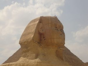 Antico Egitto Giza Sfinge