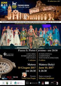 Locandina (def) Premio Moda Città dei Sassi 2017