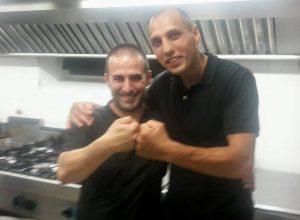 Angelo Puddu con Vigan Mustafà (1)