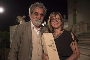Sabrina Tedeschi e Beppe Vessicchiopiccola