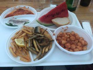 le pietanze di pesce