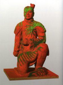 Presentazione della mostra   Sandro Chia I guerrieri di Xi'an
