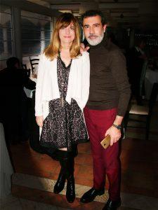 Michele Miglionico e l'attrice Nastassja Kinski (1)