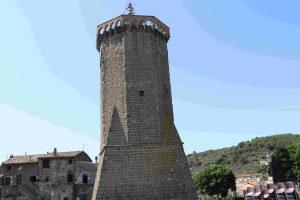 Marta la torre dell'orologio