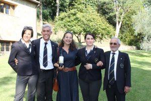 4 Diana e Vincenzo D'Isanto con i tre finalisti(2)