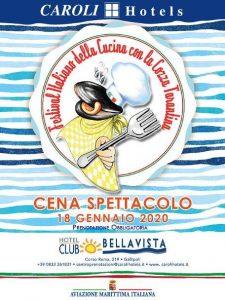 locandina XX edizione Festival cozza tarantina
